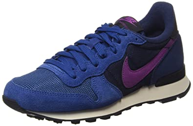 Nike Damen Internationalist Laufschuhe Blau (Dark Royal Purple Dusk ...