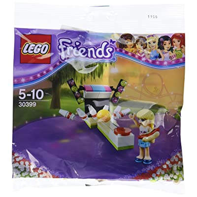 LEGO Friends 30399 Bowling Alley Stephanie (polybag): Toys & Games