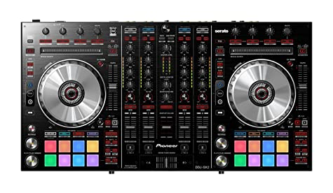 front facing pioneer ddj-sx2
