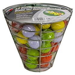 Jef World of Golf Gifts and Gallery Inc. Golf Practice Balls (42 Multi-Colored Balls)