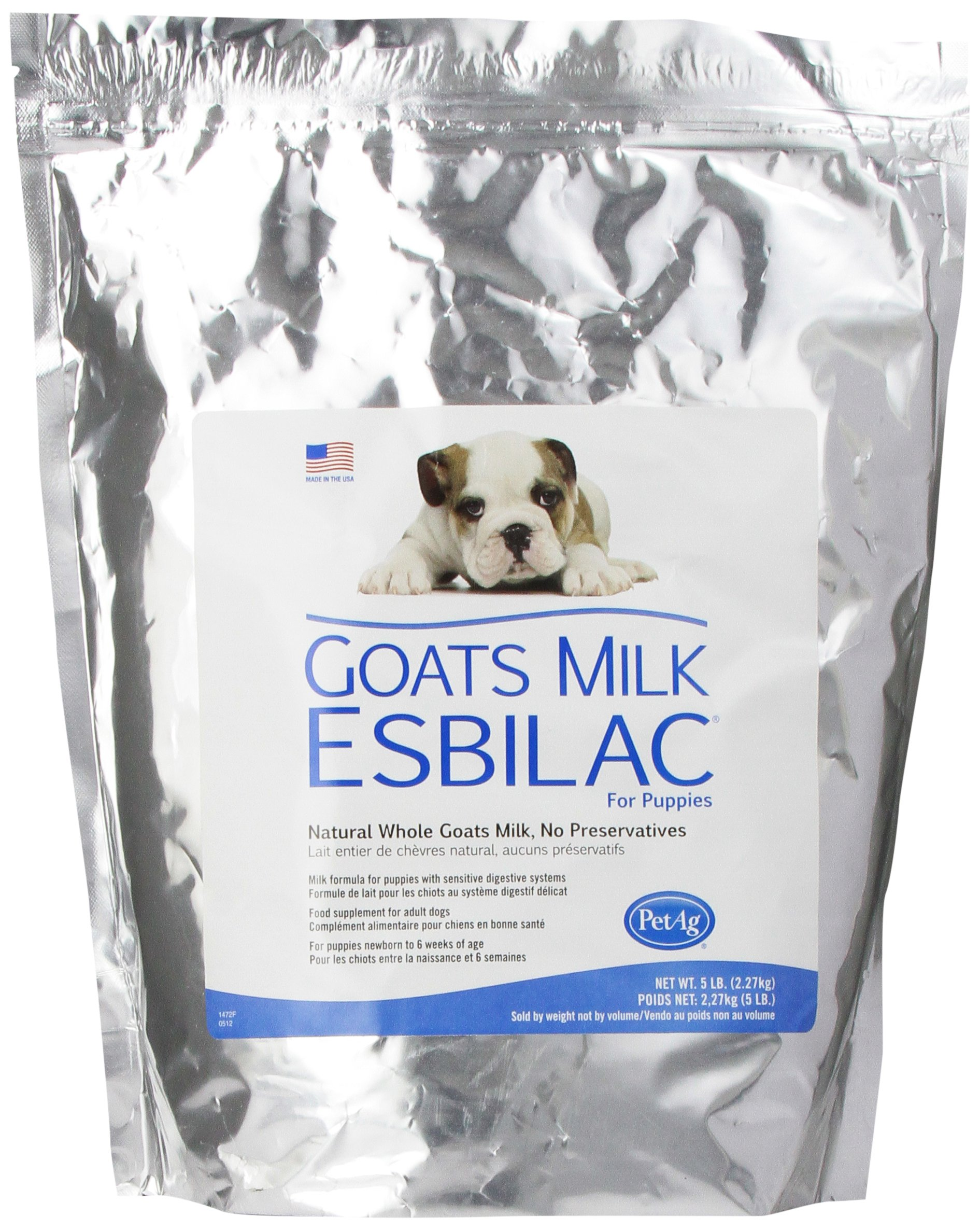 Goat's Milk Esbilac® GME Powder Milk Formula for Puppies with Sensitive Digestive Systems 5lb by PetAg