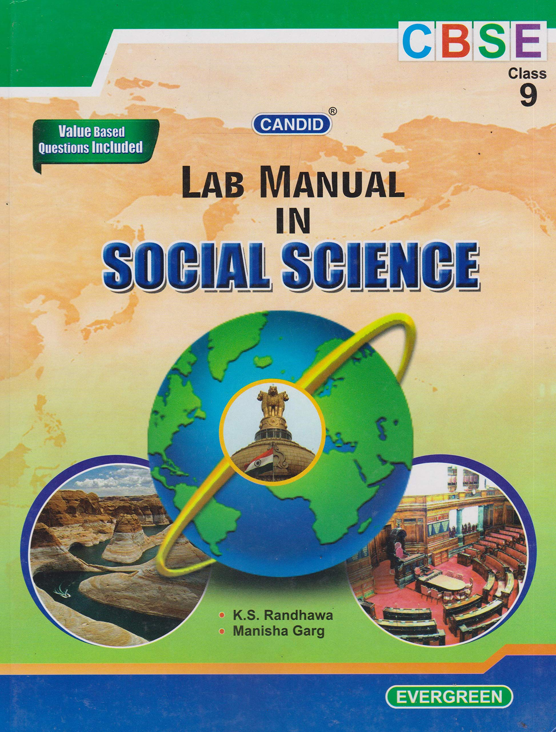 Candid Lab Manual in Social Science Class 9: Amazon.in: K S Randhawa,  Manisha Garg: Books