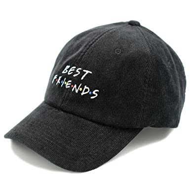 9fbac9d65 Novo Los Angeles Best Friends Dad Hat - In Corduroy (Black) at ...