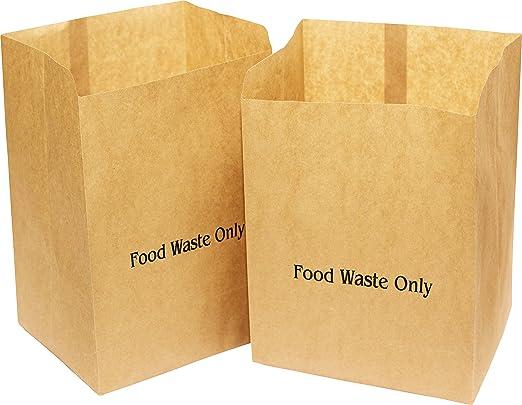 Bolsa de papel para residuos o para comida marca Alina de 10 l ...