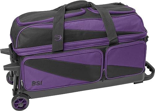 BSI Triple Roller Black Purple