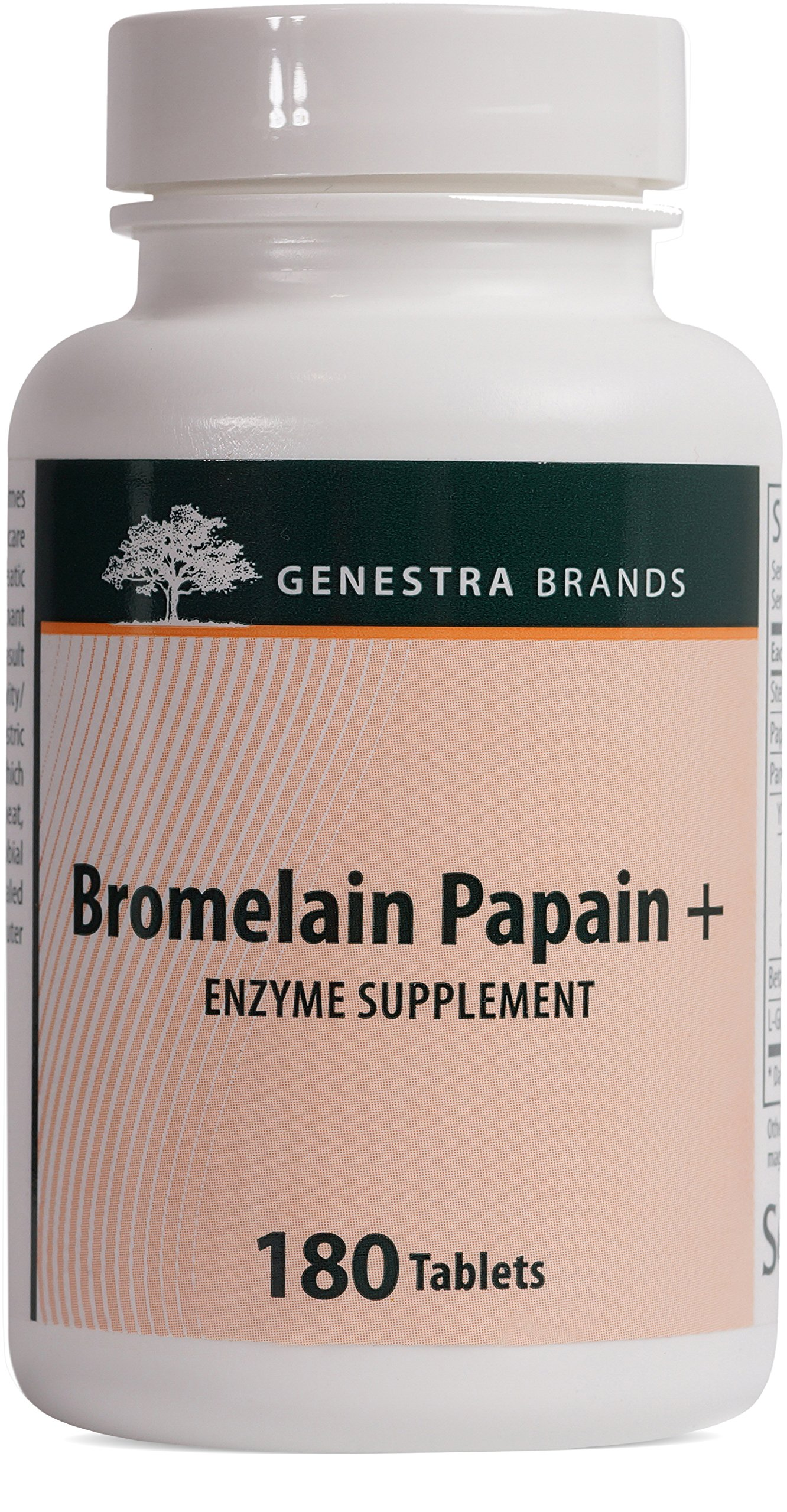 Genestra Brands - Bromelain Papain + - Multi Enzymatic Formulation in Tablet Format - 180 Tablets