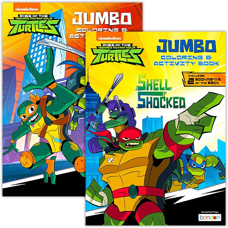 - Amazon.com: Teenage Mutant Ninja Turtles Coloring Book Set (2 TMNT