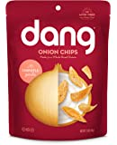 Dang Crispy Caramelized Onion Chips, Chipotle Garlic, 4 Count