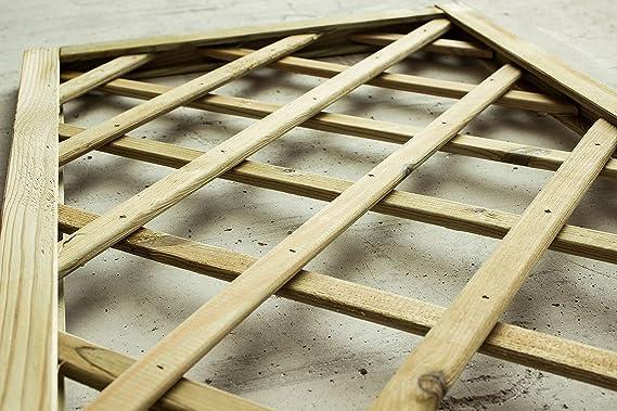 Avanti Trendstore - Celosía de madera, 60 x 180 cm: Amazon.es: Hogar