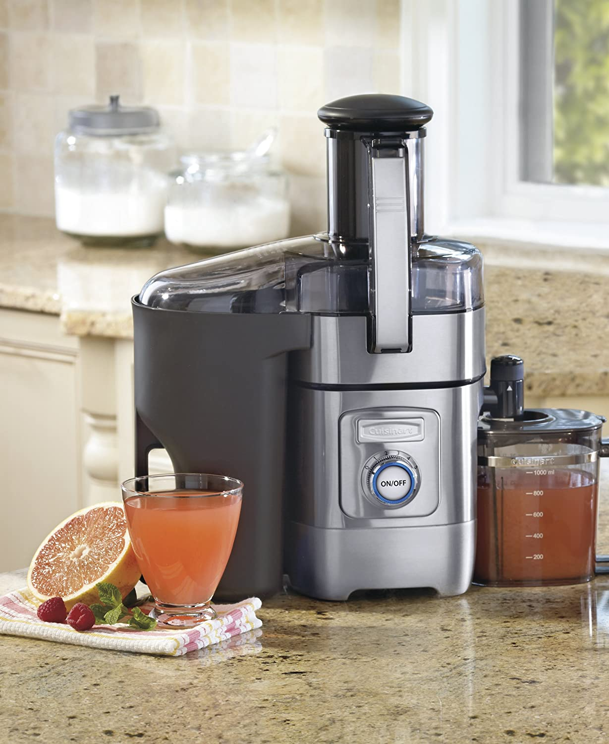 Cuisinart juicer - best juice extractor for multi-purpose use
