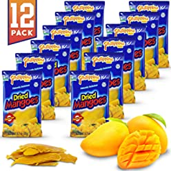 8ca07eac1 Philippine Brand Dried Mangoes Fruit Snacks {12 PACK} All Naturally Gluten  Free, Vegan