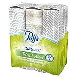 Puffs Plus Lotion Facial Tissues, 3 Softpacks, 96
