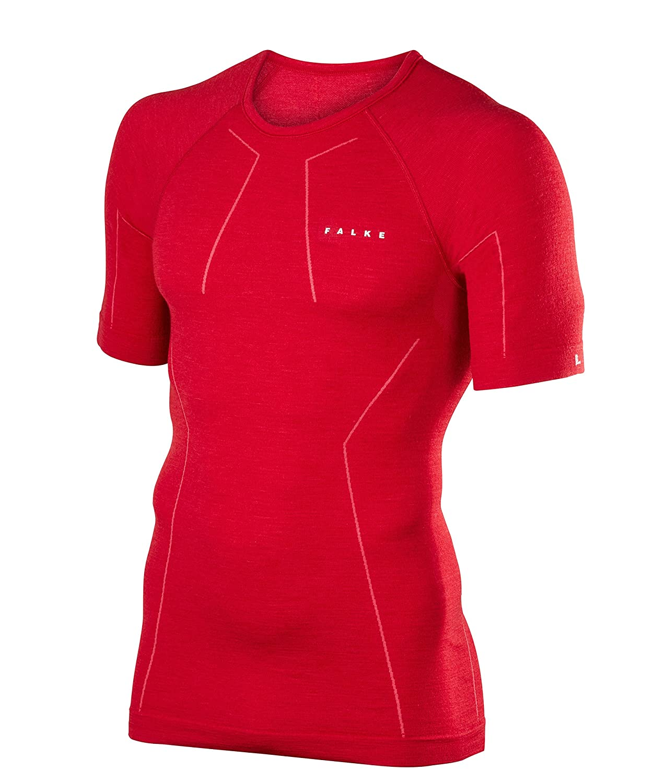 FALKE Herren Wool Tech shortsleeve Shirt Comfort Unterwäsche