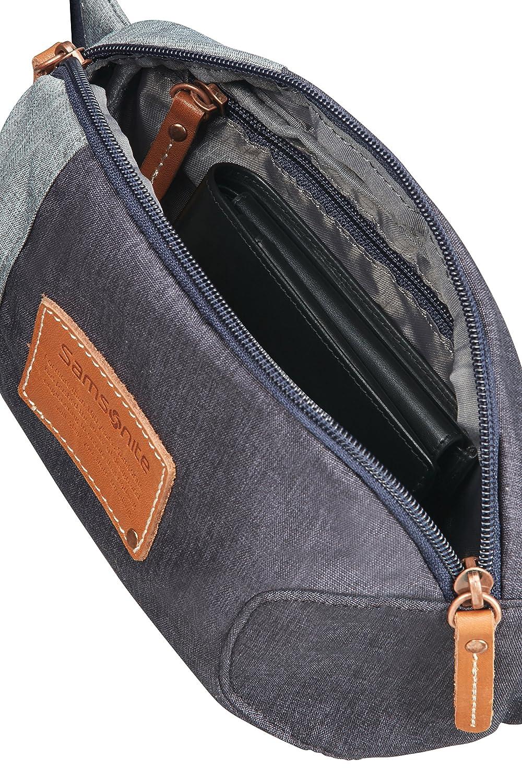 2.5 L 24 cm River Blue 0.2 KG Umh/ängetasche Belt Bag SAMSONITE Rewind Natural