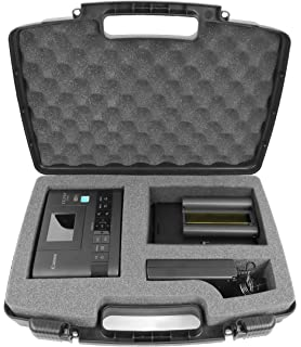 secure hard travel carrying case with dense foam fits canon selphy cp1200 cp910 wireless compact - Canon Selphy Color Ink Paper Set
