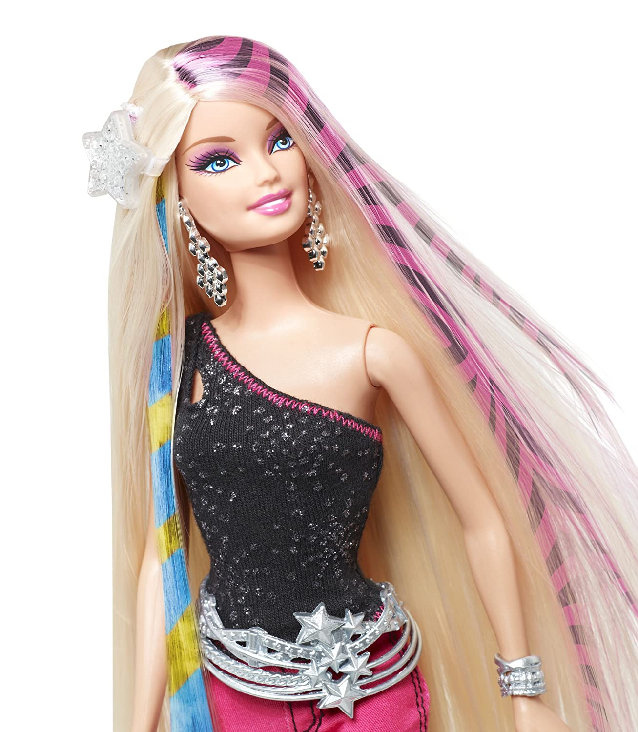 Barbie designable hair extensions with doll amazon toys barbie designable hair extensions with doll amazon toys games pmusecretfo Gallery