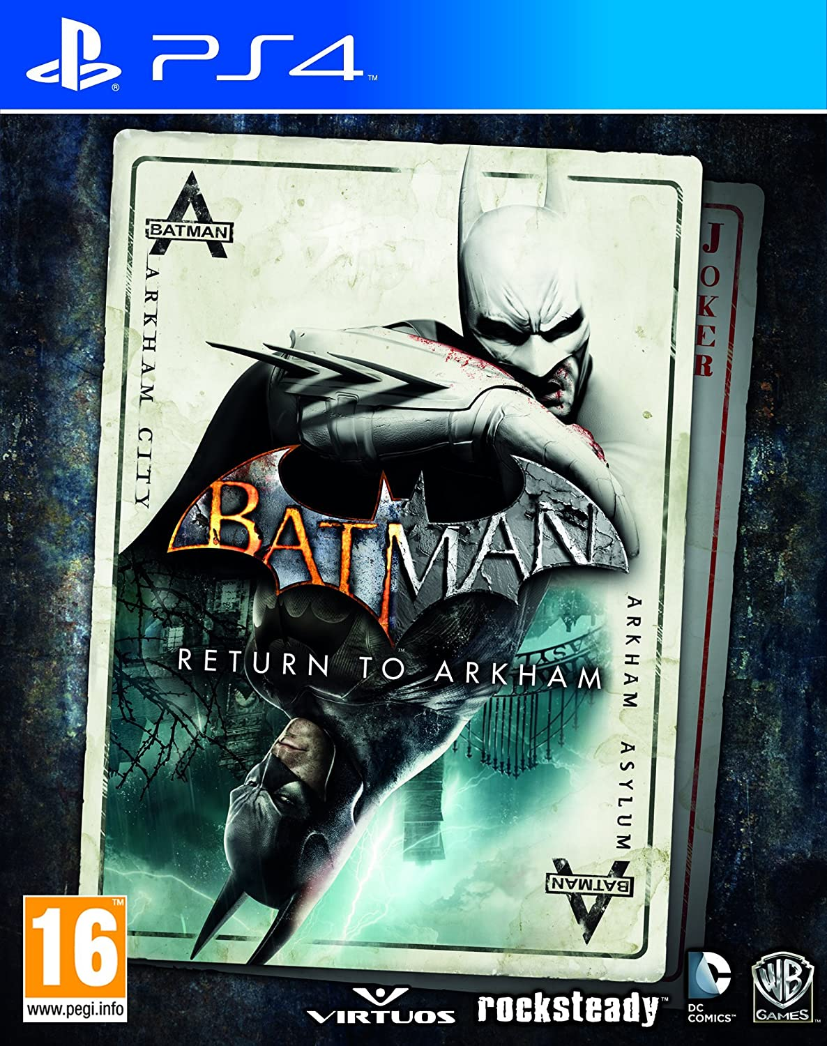 Batman: Return To Arkham (Asylum + Arkham City)