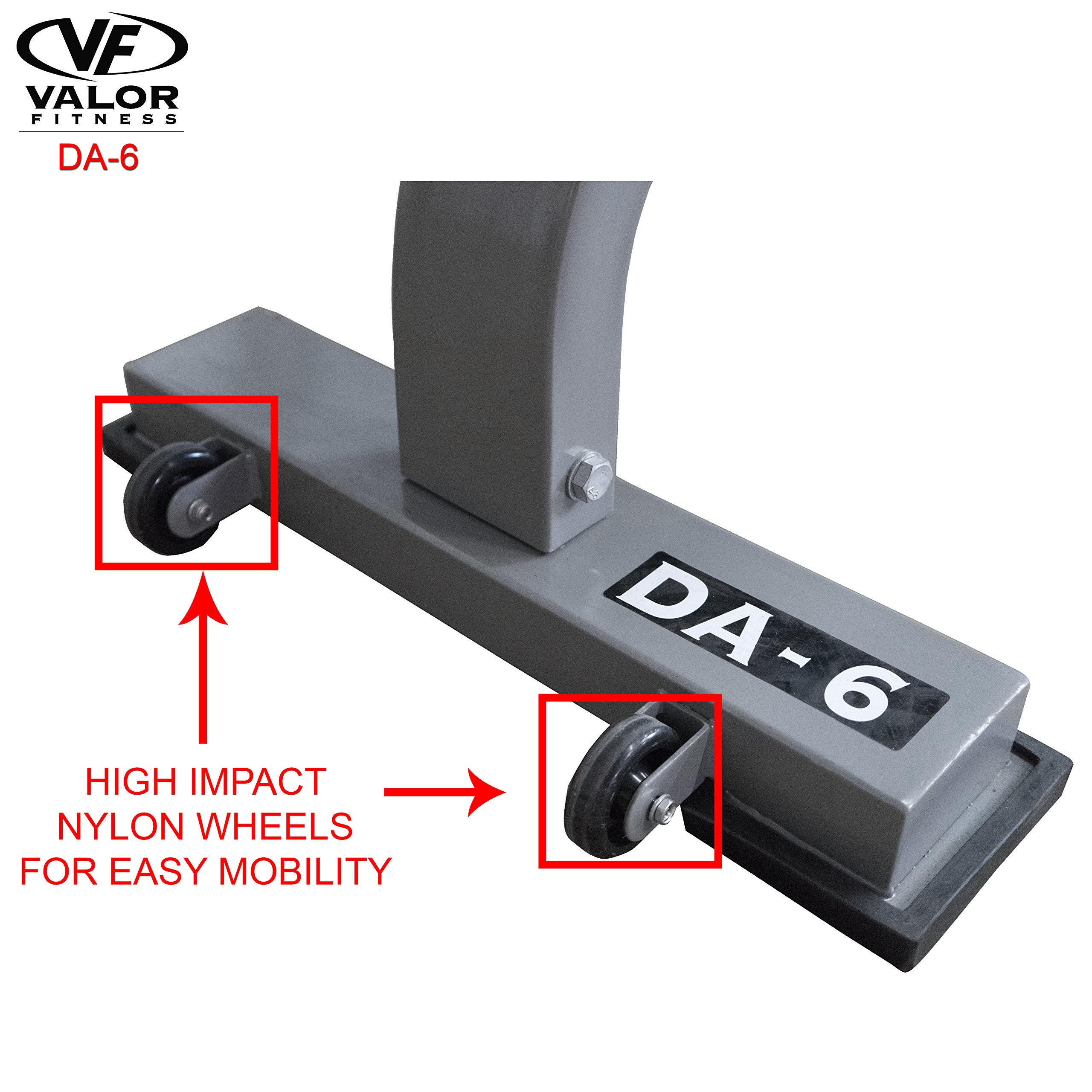 Valor Fitness DA-6 Flat Bench by Valor Fitness (Image #3)
