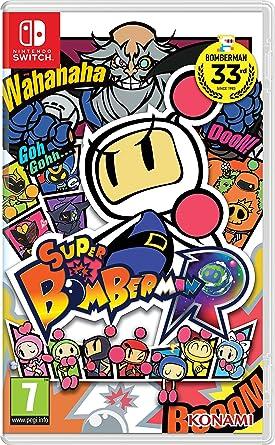 Konami Super Bomberman R, Nintendo Switch Básico Nintendo Switch Italiano vídeo - Juego (Nintendo Switch, Nintendo Switch, Acción, Modo multijugador, E10 + (Everyone 10 +)): Amazon.es: Videojuegos
