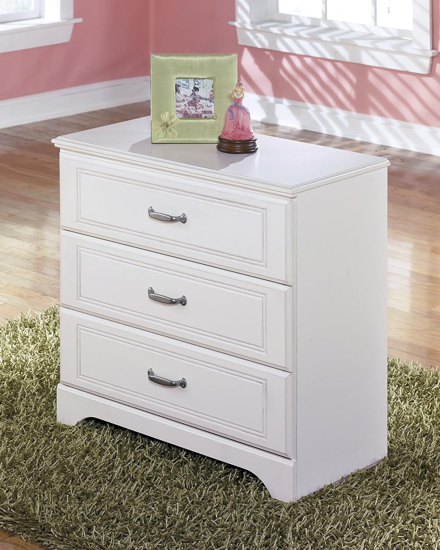 Amazon.com Lulu Soft White Twin Size Wood Loft Bed W/ Storage Drawers u0026 Bookshelf Kitchen u0026 Dining & Amazon.com: Lulu Soft White Twin Size Wood Loft Bed W/ Storage ...