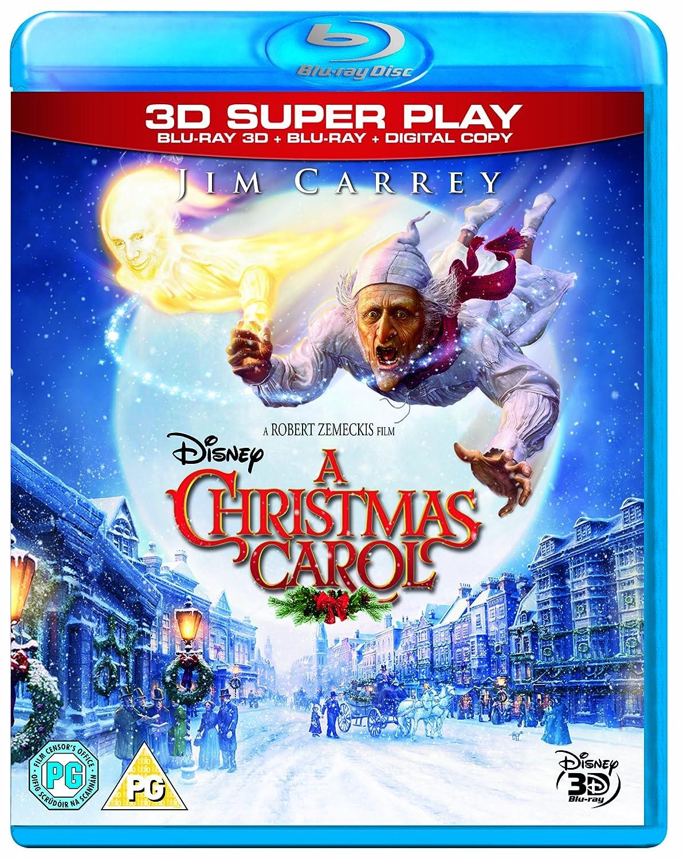 A Christmas Carol Blu-ray 3D + 2D Blu-ray + Digital Copy 2009 ...