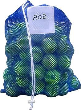 Dealzco Bolsa de malla para pelotas de tenis, capacidad para 100 ...