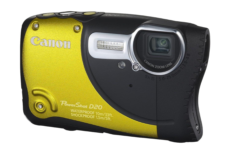 1510a5ed7 Canon PowerShot D20 - Cámara Digital compacta de 12.1 MP (Pantalla de 3
