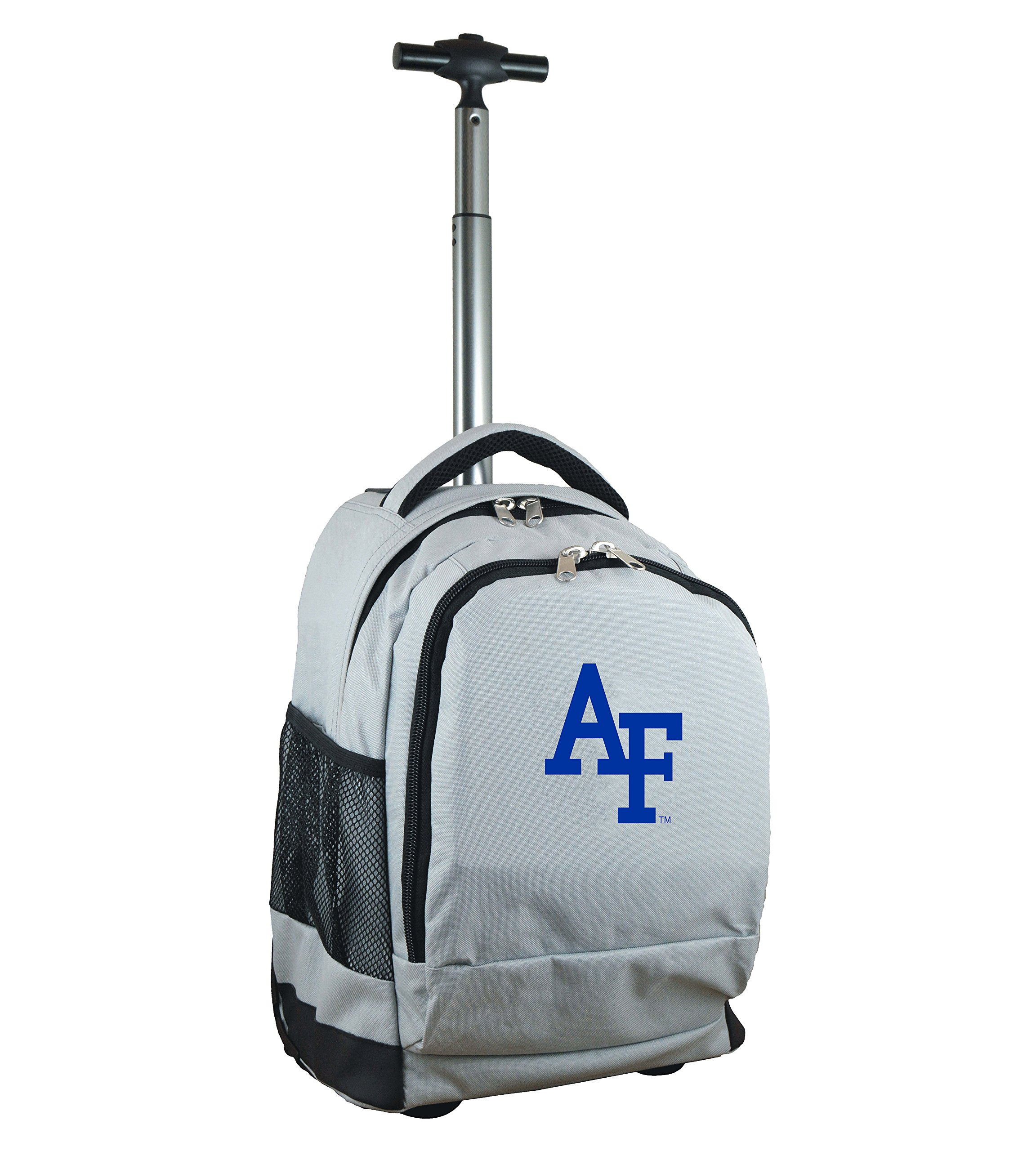 Denco NCAA Air Force Falcons Expedition Wheeled Backpack, 19-inches, Grey
