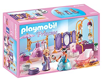 Playmobil   6850   Jeu   Salon De Beauté + Princesse