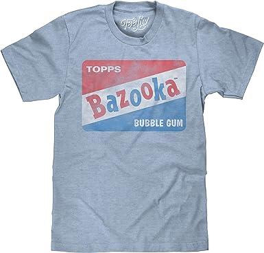 Tee Luv Bazooka Bubble Gum - Camiseta de Manga Corta con Logo de Caramelo - Azul - 3X-Large: Amazon.es: Ropa y accesorios