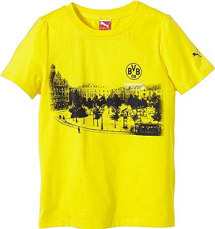 PUMA T-Shirt BVB Boys Fan tee (borsigplatz) - Camiseta ...