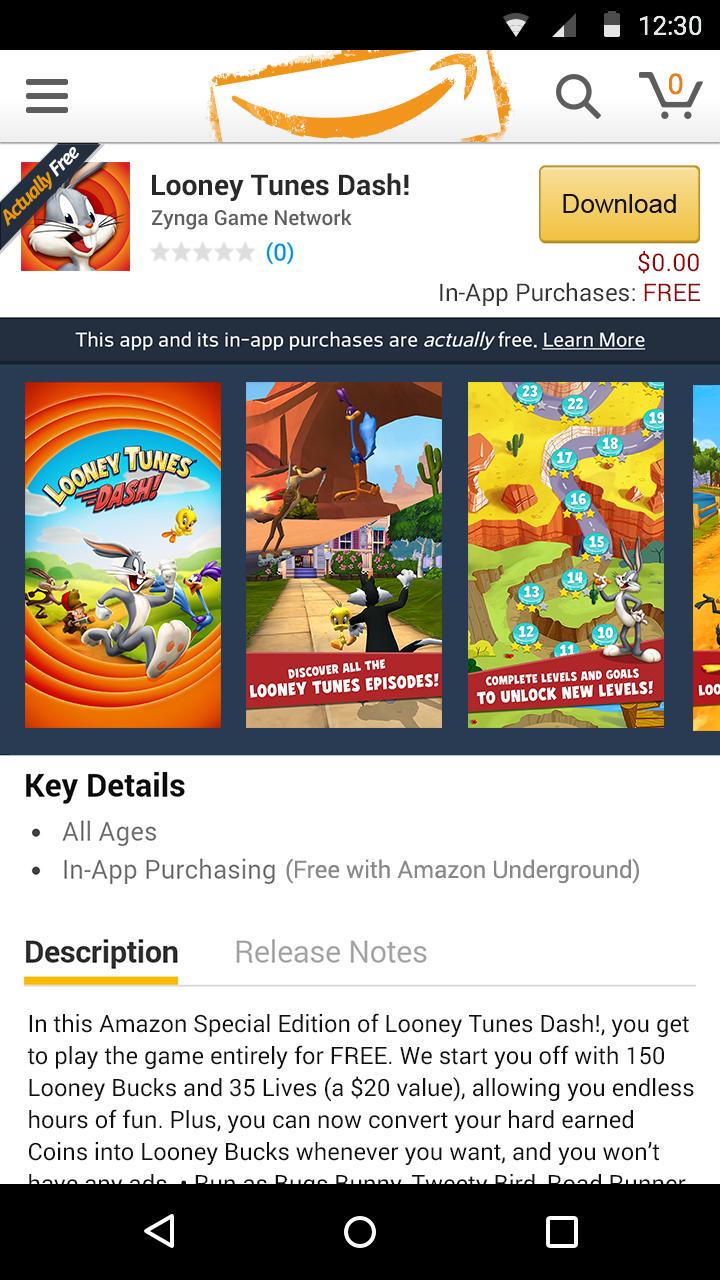 Amazon Underground v6.8.0.200
