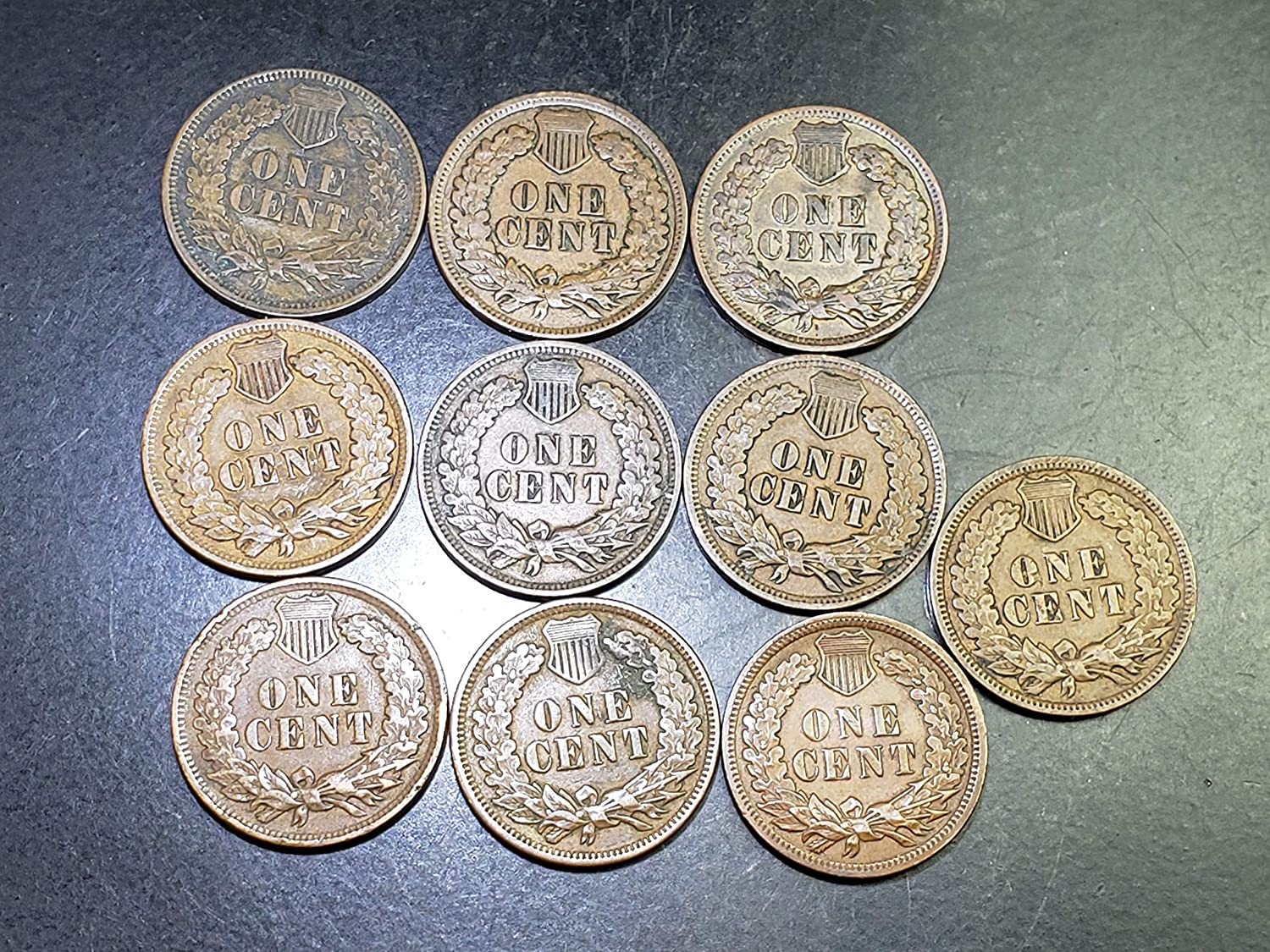 US Indian Head Cents Circulated Price per Each Coin 1906 or 1907 or 1908 photos