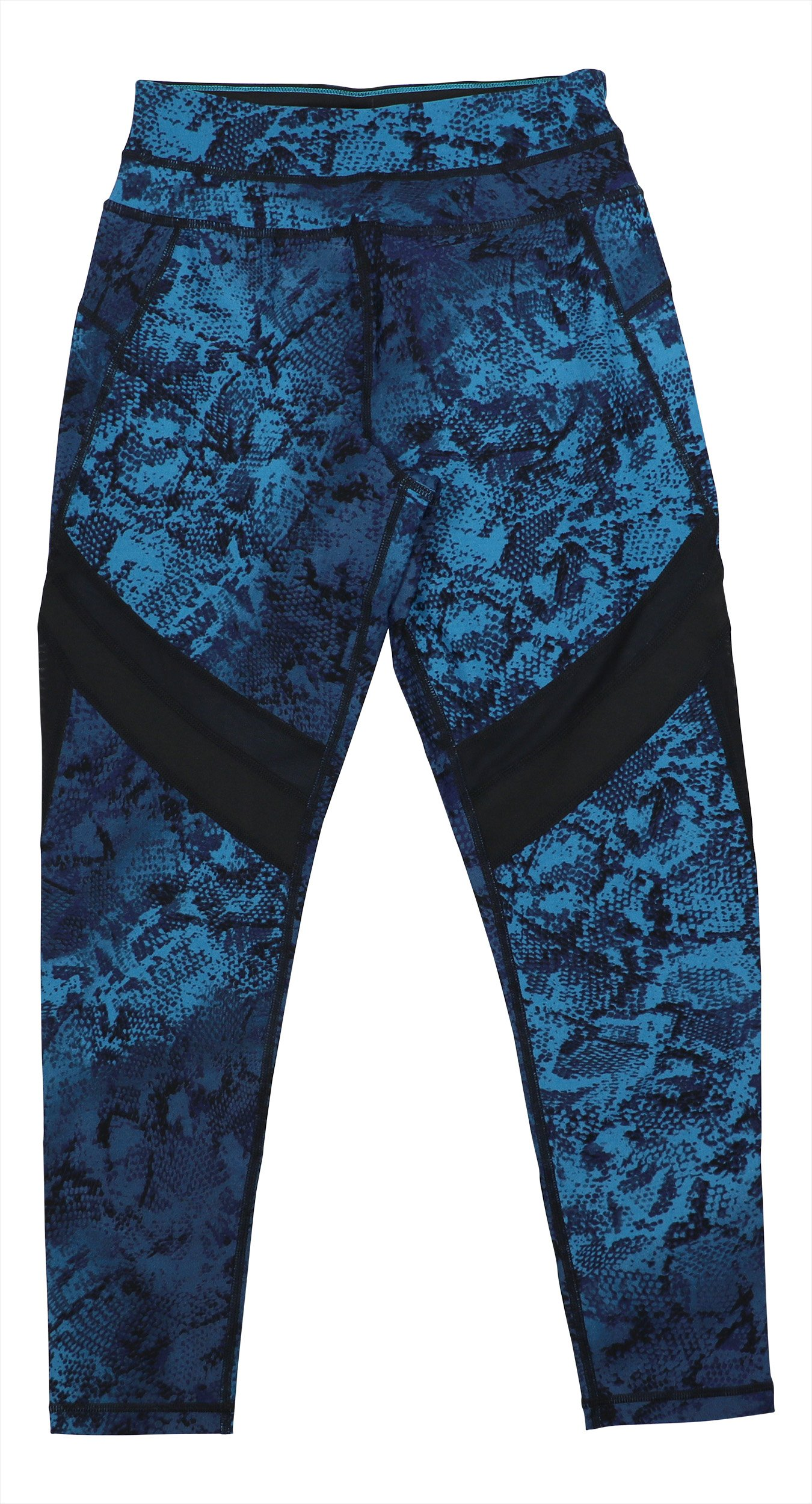Calvin Klein Performance Womens Fitness High-Waist Athletic Leggings Blue S