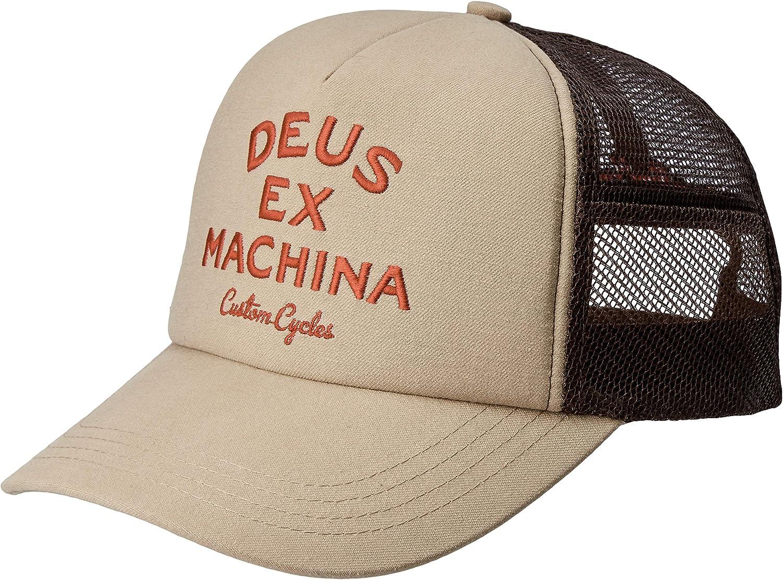 Deus Ex Machine Gorra Diego Trucker Marrón U: Amazon.es: Ropa y ...