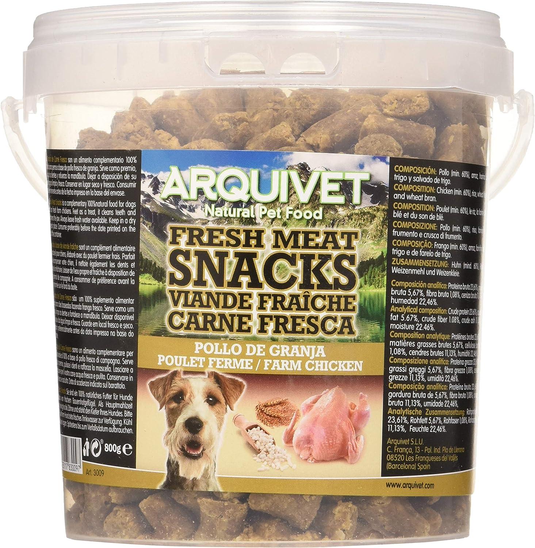 Arquivet Snacks Carne Fresca Pollo de Granja 800g - 855 gr