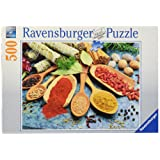 Ravensburger Colourful Spices Table Puzzle 500pc,Adult Puzzles
