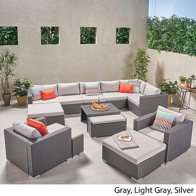 Amazon.com: Great Deal Furniture Irene - Juego de sofá de 8 ...