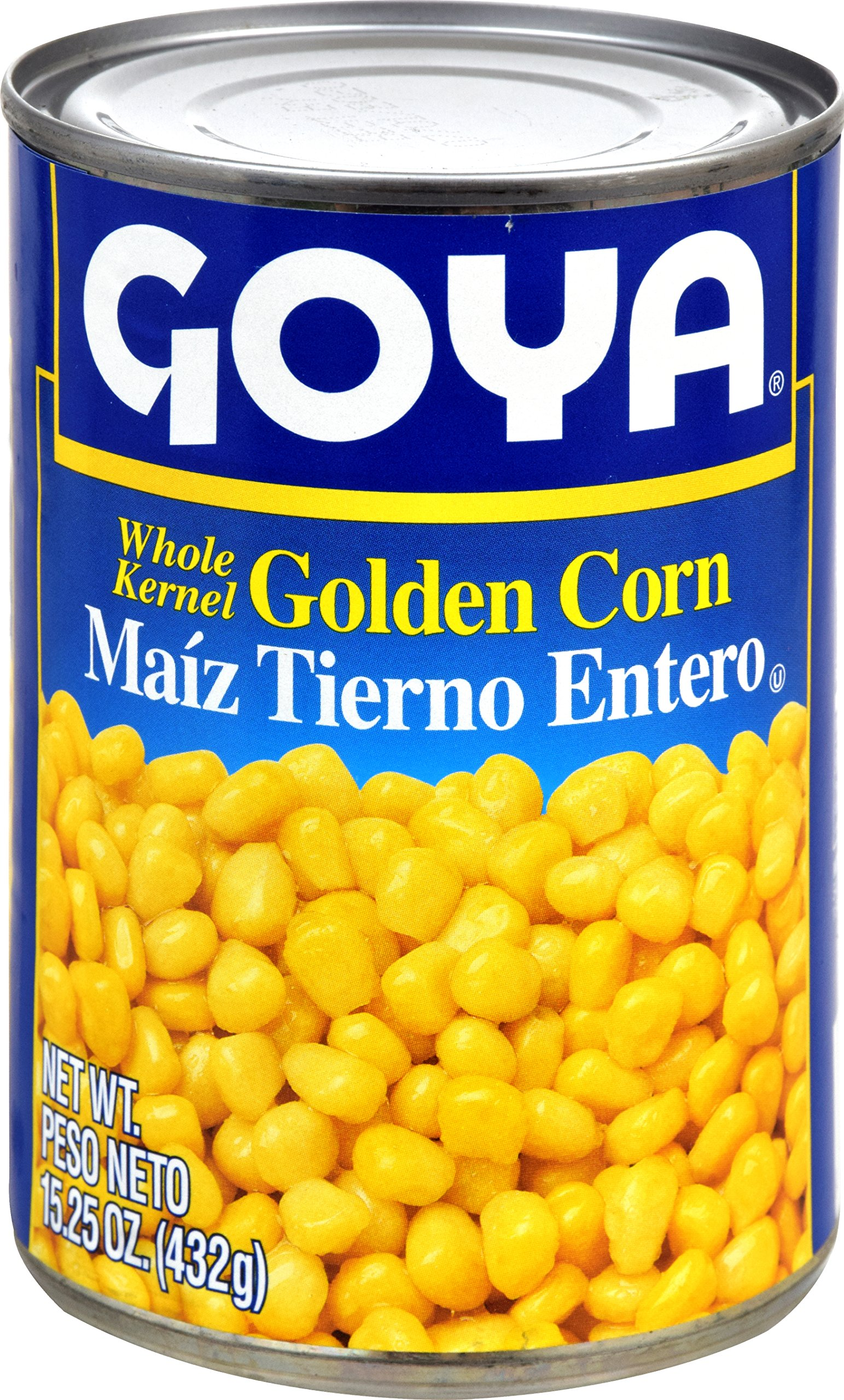 Goya Foods Whole Kernel Corn, 15.25 Ounce (Pack of 24)
