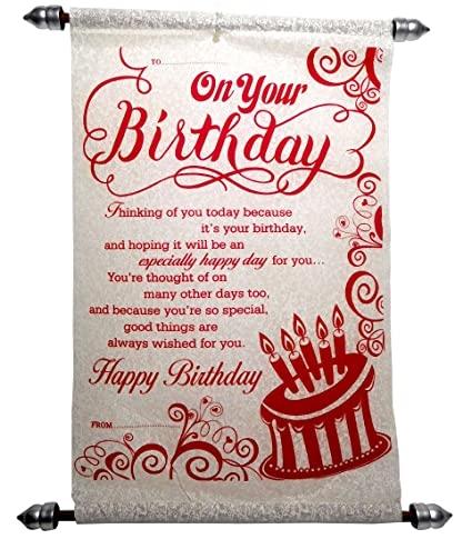 Siddhi gifts happy birthday greeting card red amazon toys games siddhi gifts happy birthday greeting card red m4hsunfo