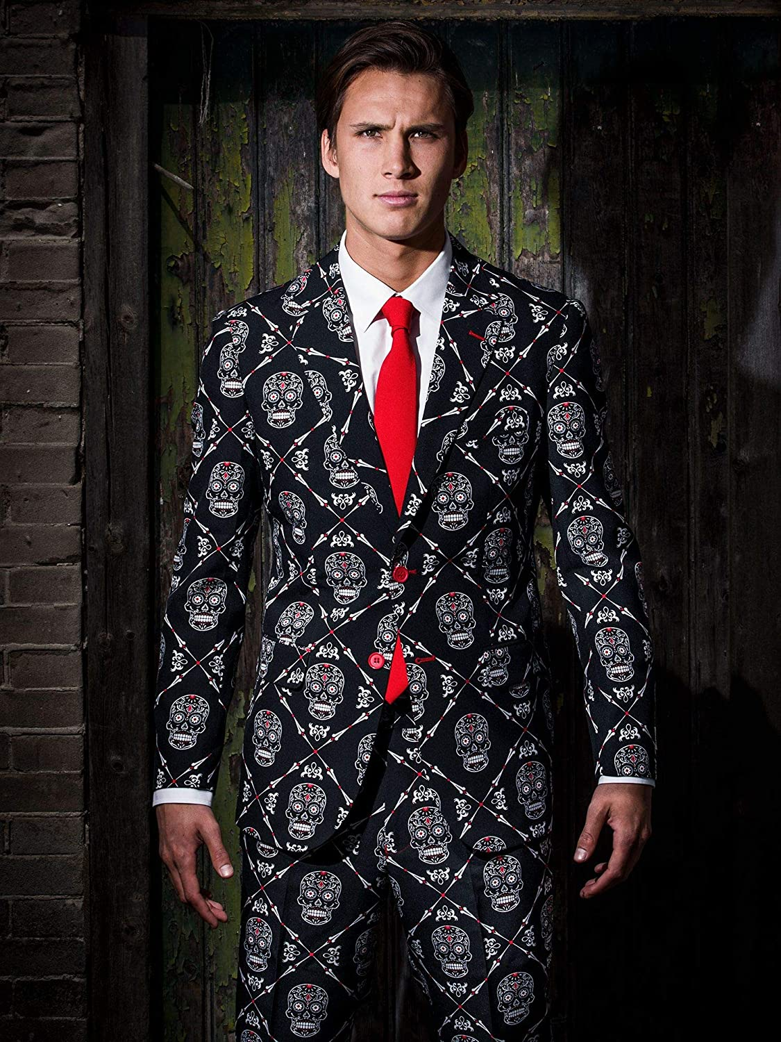OppoSuits Halloween Jackets for Men in Different Prints Includes Stylish Blazer