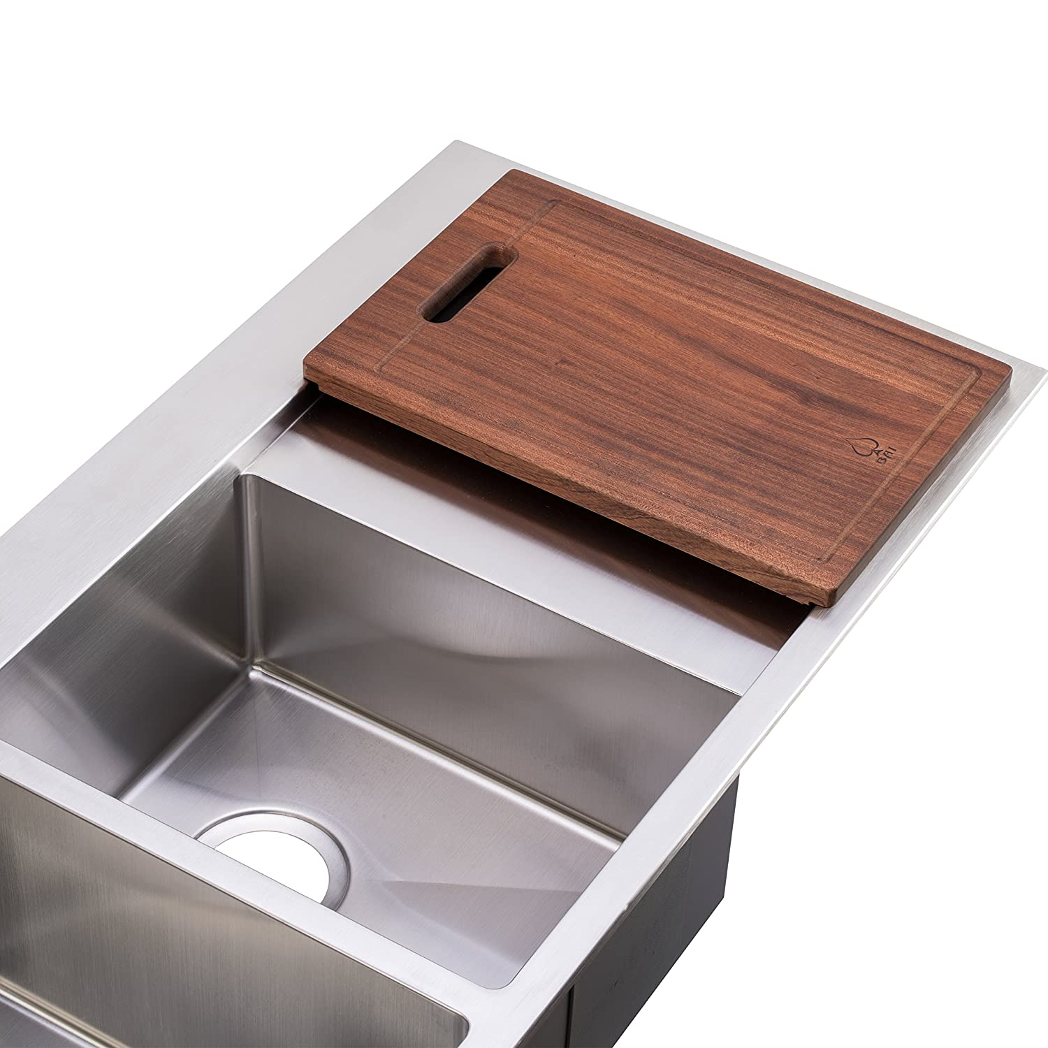bai 1235 48 handmade stainless steel kitchen sink double bowl