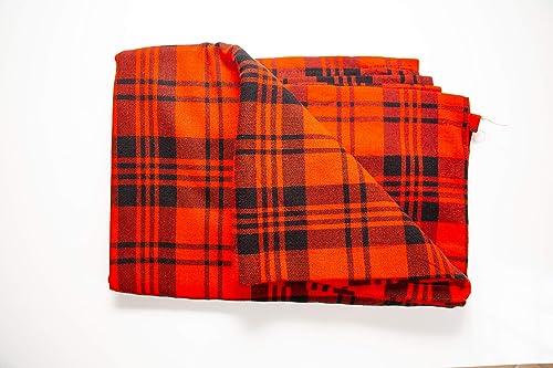 African Traditional Maasai Shuka and Tv Blanket