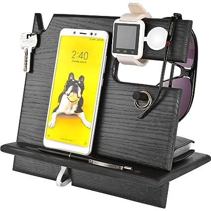 Amazon.com: Soporte de teléfono móvil para reloj. Soporte de ...