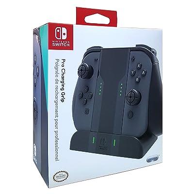 PDP Nintendo Switch Pro Joy Con Charging Grip: Video Games