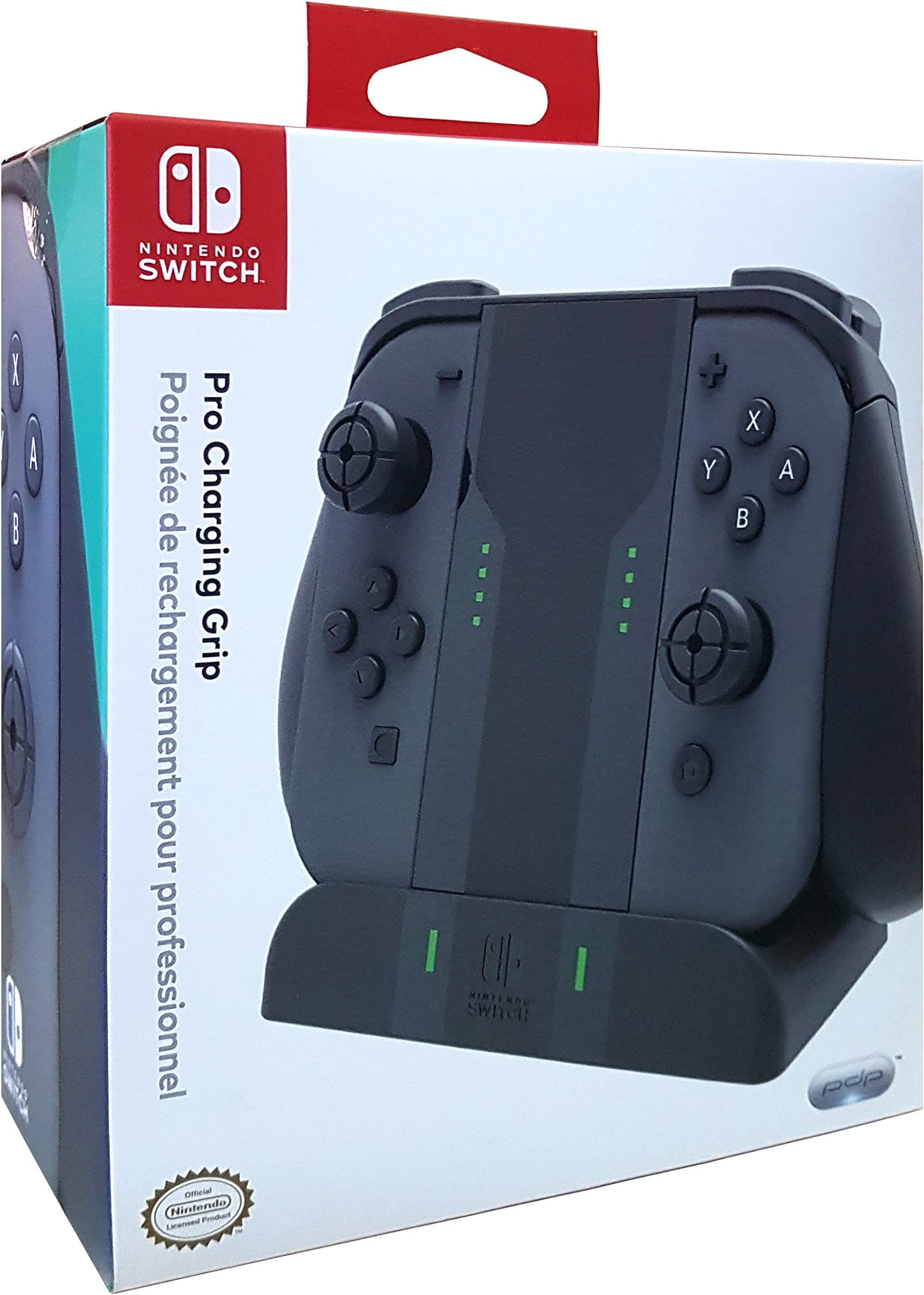 Amazon.com: PDP Nintendo Switch Pro Joy Con Charging Grip ...