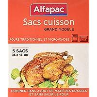 ALFAPAC - Bolsas para horno (35 x 43