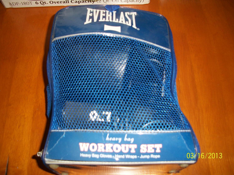 Everlast Heavyバッグワークアウトセット B00BVUIQQI