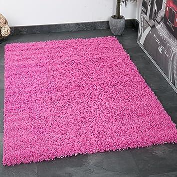 VIMODA Prime1000 Shaggy Hoch /Langflor Teppich, Modern Für Wohn / Schlafzimmer,