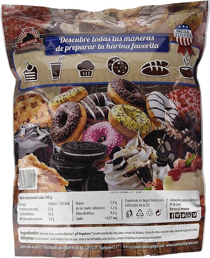 Max Protein Oatmeal Harina Avena - 3000 gr: Amazon.es: Salud y ...